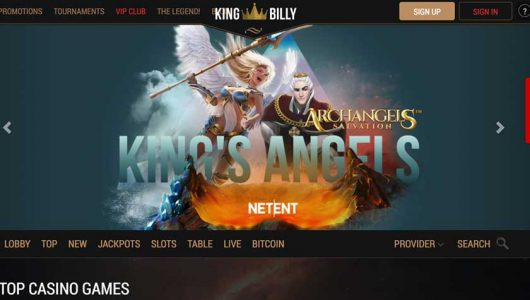 king billy casino bonus