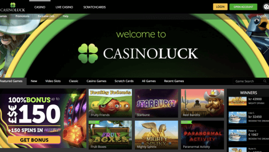 casinoluck free Spins & Bonus