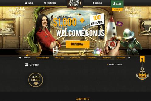 casino cruise free spins