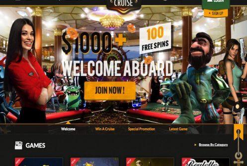 casinocruise free spins
