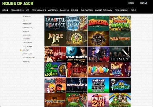 House Of Jack Australian Casino Bonus And Free Spins
