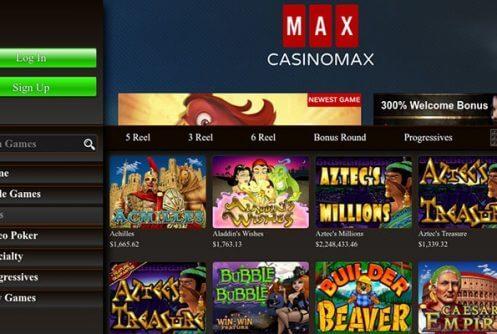 casinomax free spins
