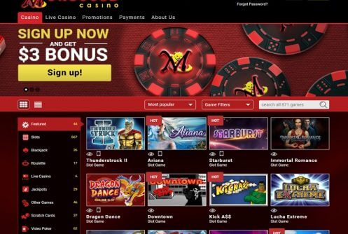 mongoose casino free spins