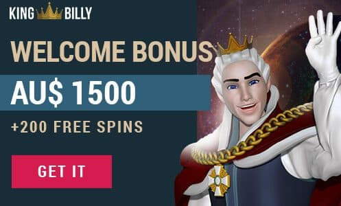 king billy free spins
