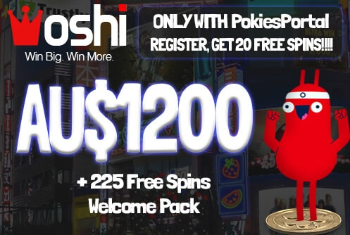 oshi casino free spins