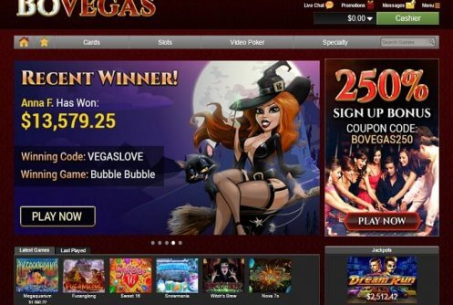 bovegas no deposit free chip and codes