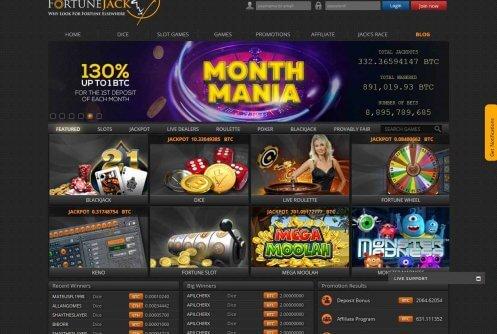 Fortunejack casino bonus