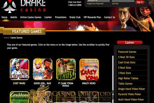 Drake Casino Review Bonuses And Free Spins