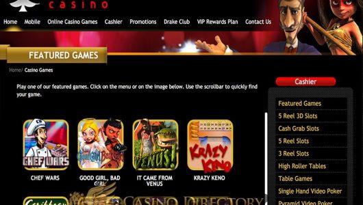 drake casino bonus codes