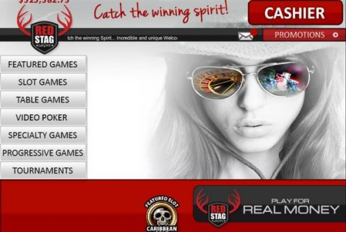red stag casino bonus