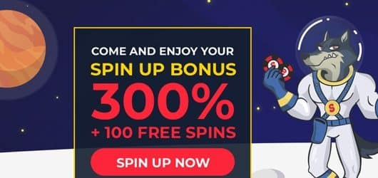 spinup casino bonus