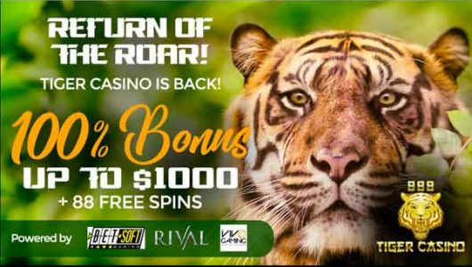 888 tiger casino free spins
