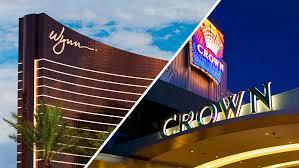 wynn resorts bids on crown casino