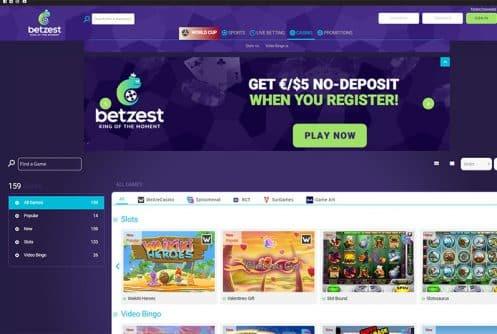 Betzest Casino: The Entertainer