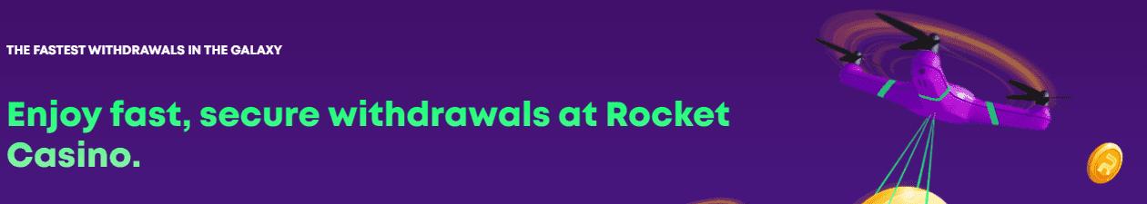casino rocket withdrawal
