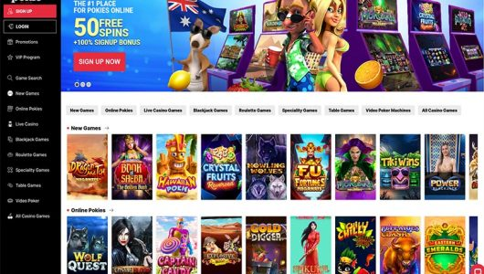 pokie place casino review Australia